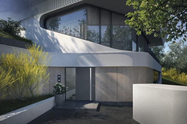 Aluminium-Haustür, Hörmann