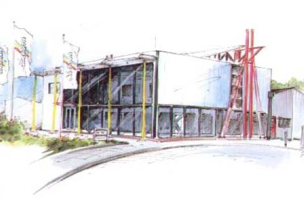 Firmengebäude, Jackson